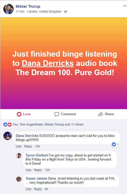 Grab Your Copy Of The Dream 100™ Book For FREE! ($2,000 Value)